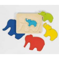 Elephant Layer Puzzle