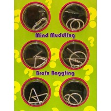 Mini Wire Puzzles - Set of 6