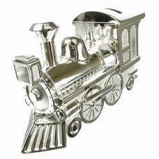 Train Engraved Money Box